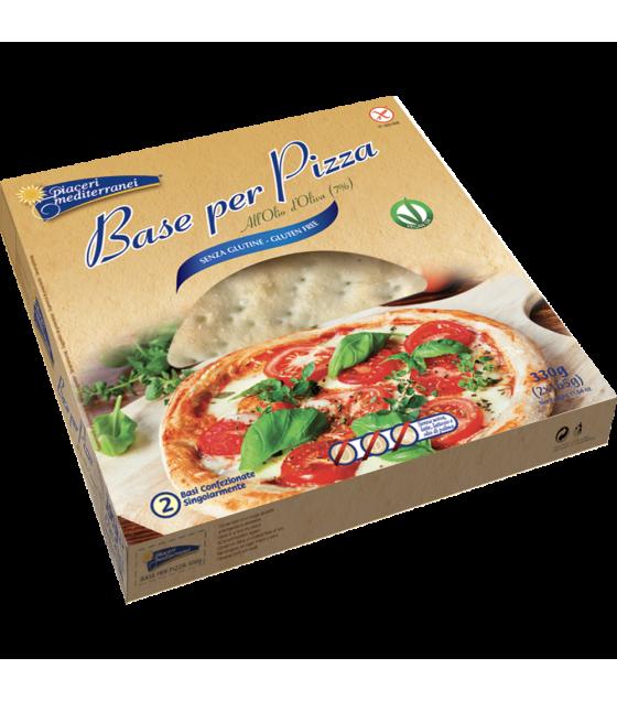Piaceri Medit Base Pizza2x165g