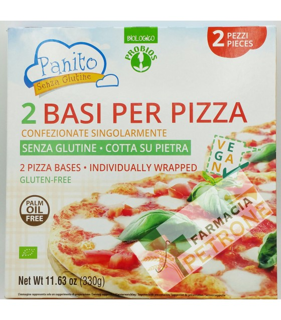 Panito Base Pizza S/glut 330g