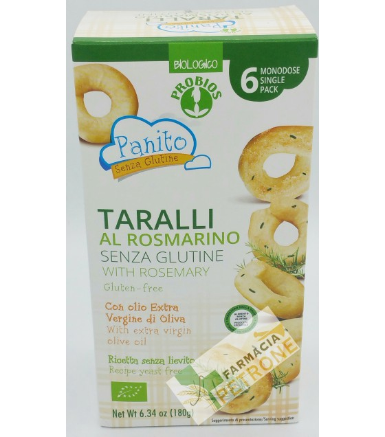 Panito Taralli Rosmarino 180g