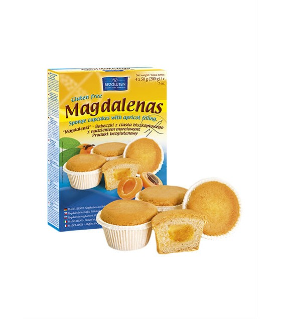 Bezgluten Magdalenas 200g