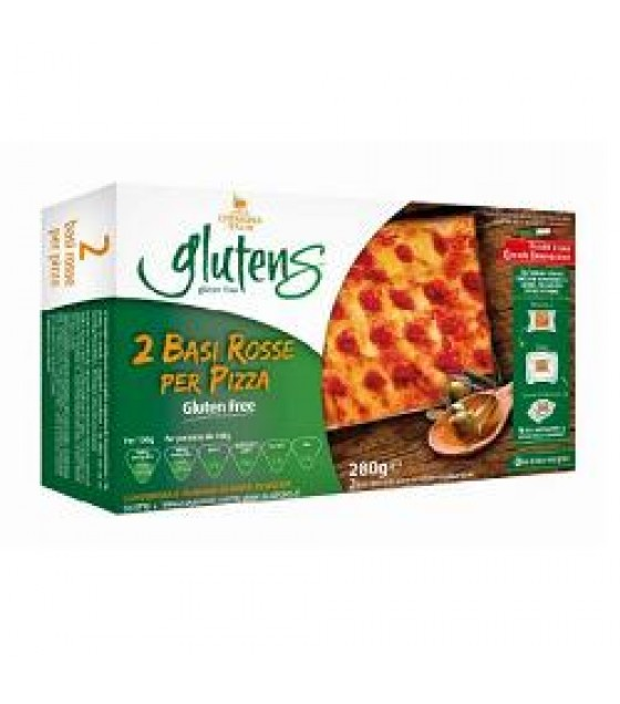 Base Rossa Pizza 140g 2pz