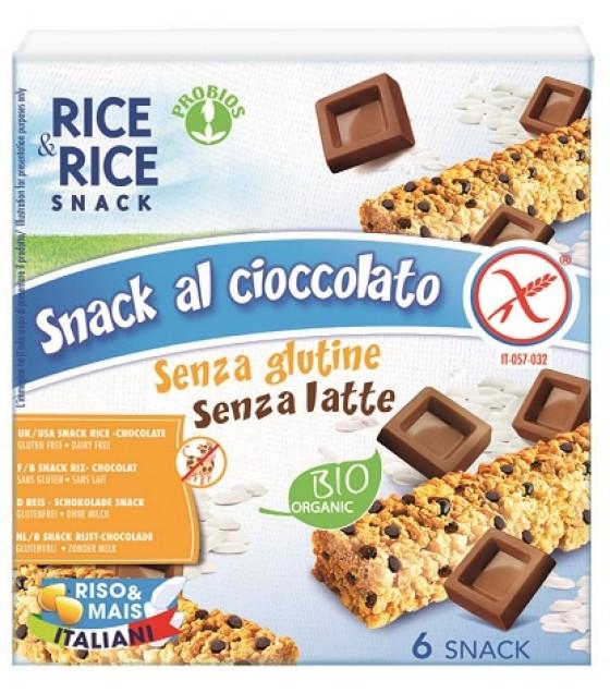 R&r Snack Riso Cioccolato6x21g