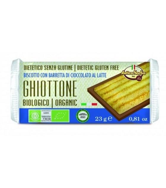 Ghiottone Bisc Cioc Latte 23g