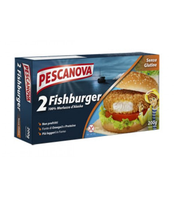 Pescanova Fish Burger 200g