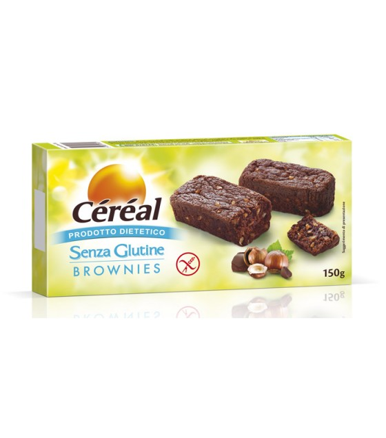 Cereal Brownies 150g SENZA LATTOSIO