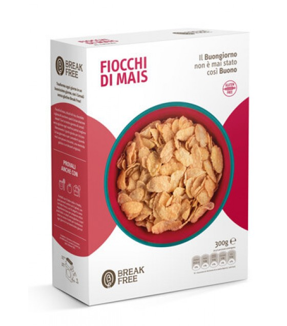 Break Free Fiocchi di Mais 250g