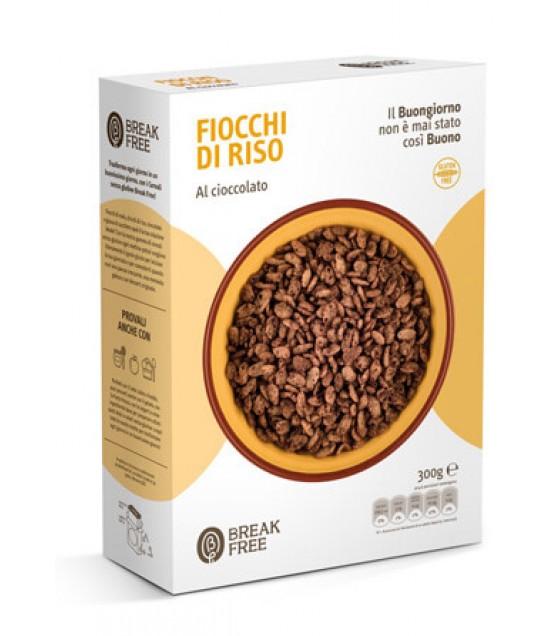 Break Free Fiocchi di Riso al Cioccolato 300g