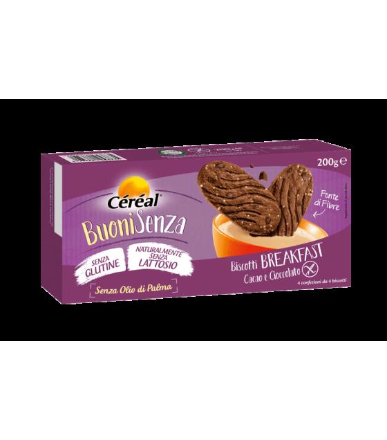 Cereal Buoni Senza Breakfast Cacao e cioccolato SENZA LATTOSIO