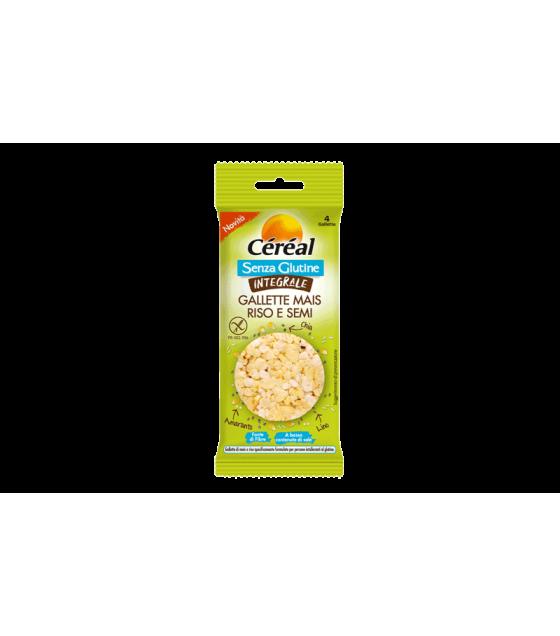 Cereal Gallette Mais Riso e Semi 11g