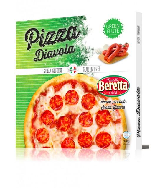 Green Flute Pizza Diavola 370g