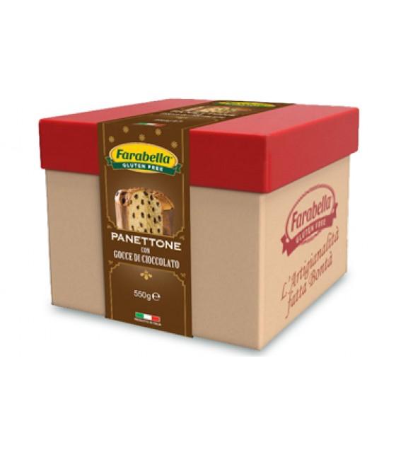 Farabella Panettone con Gocce di Cioccolato SENZA LATTOSIO