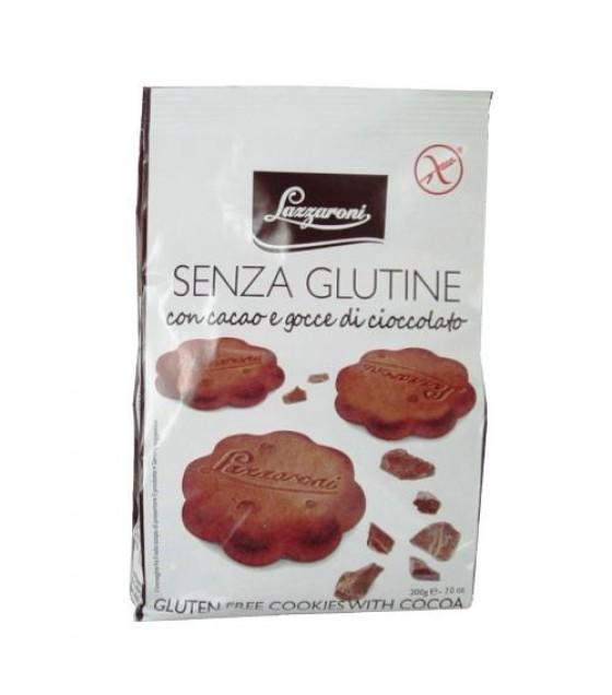 LAZZARONI Frollini Cacao Gocce Cioc 200g