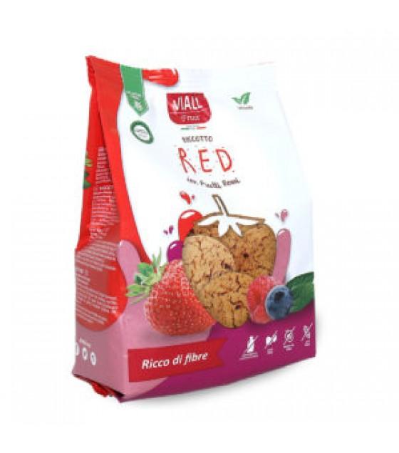 Viall Fruit Biscotti Frutta Red SENZA LATTOSIO