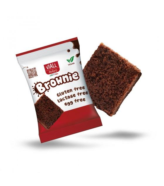 Viall Bakery Brownie Monoporzione 50g SENZA LATTOSIO
