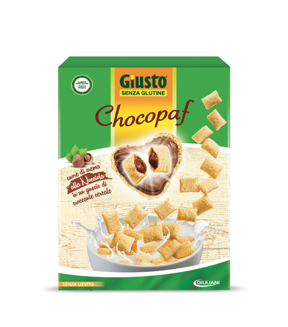 Giusto Giuliani senza glutine Chocopaf 300g