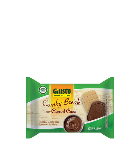 Giusto S/g Comby Break con Crema al Cacao