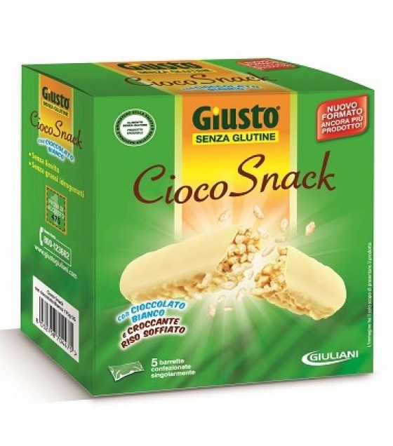 Giusto S/g Ciocosnack Bianco 175g