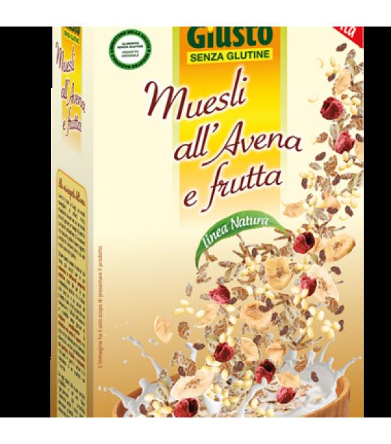 Giusto S/g Crunchy Muesli all'Avena e Frutta