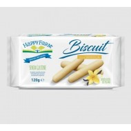 Happy Farm Biscuit alla Vaniglia 120g