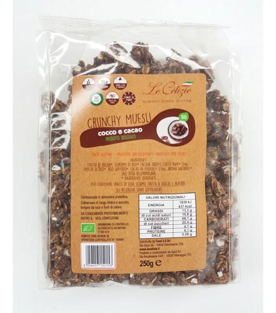 Le Celizie Crunchy Cocco e Cacao Bio