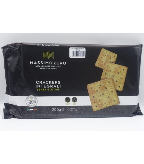 Massimo Zero Crackers Integrali 200g