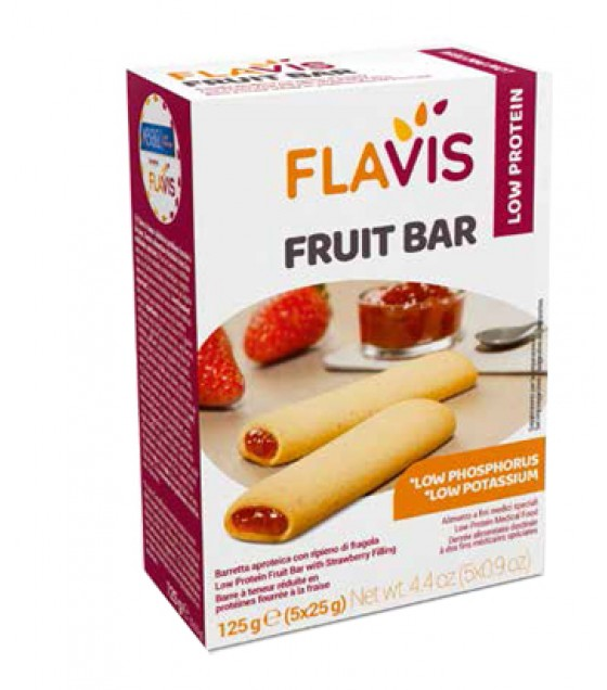Mevalia Flavis Fruit Bar 125g