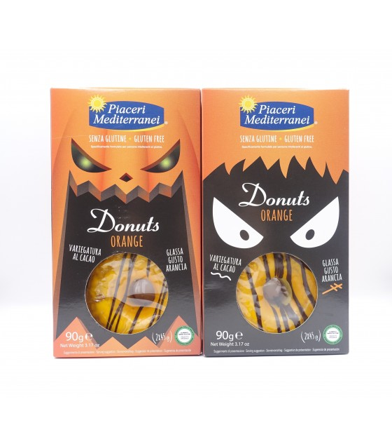 Piaceri Mediterranei Donuts Orange 90g Halloween