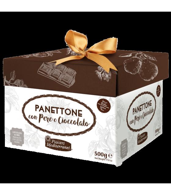 Piaceri Mediterranei Panettone con Pere e Cioccolato