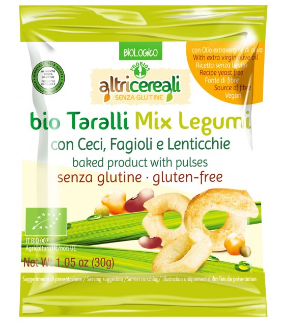 Altricereali Taralli Mix Legum