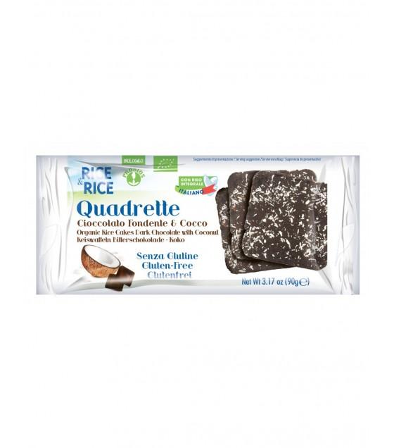 R&r Quadrette al Cioccolato Fondente e Cocco
