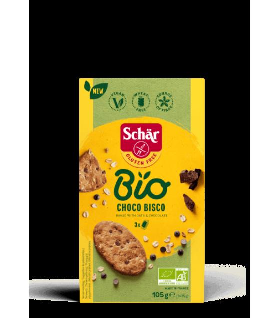 Schar Bio Choco Bisco 105g