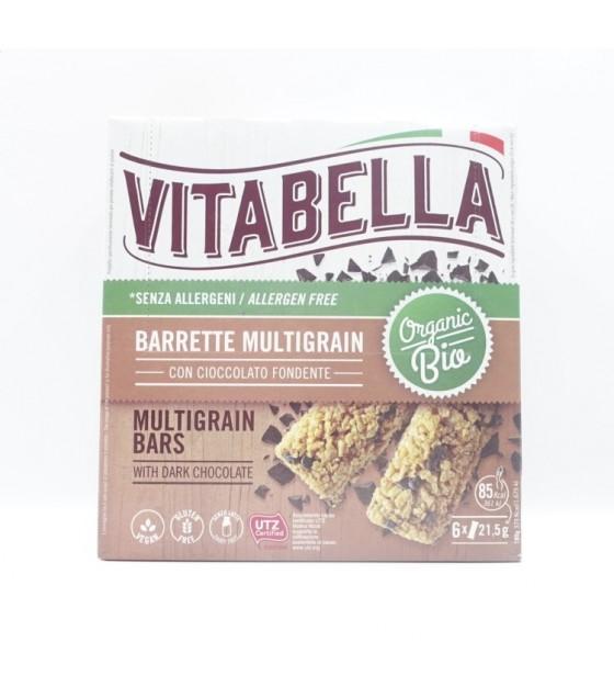 Vitabella Multigrain Barrette con Cioccolato Fondente Bio