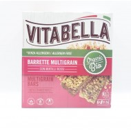 Vitabella Multigrain Barrette con Mirtilli Rossi
