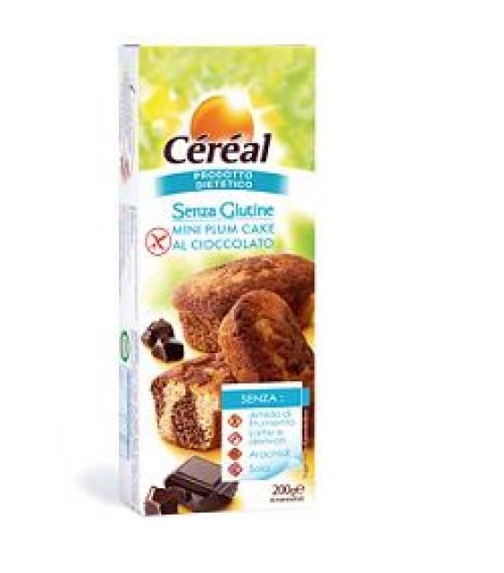 Cereal Mini plumcake con Gocce di Cioccolato 200g SENZA LATTOSIO