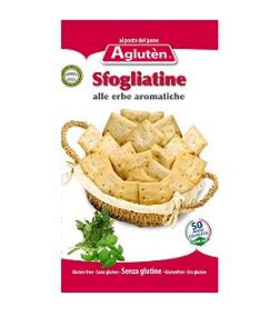 Agluten Sfogliatine Erbe Aromatiche 150