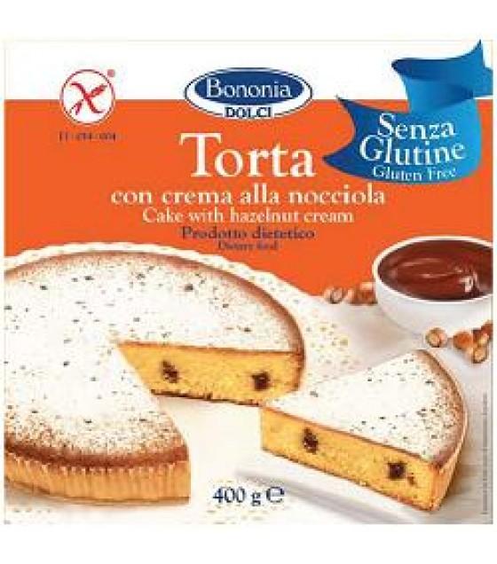 Bononia Torta Cr Nocciola S/gl