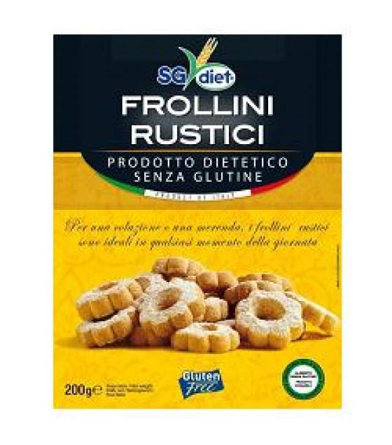 Sg Diet Frollini Rustici 200g