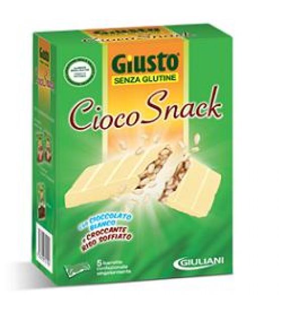 Giusto S/g Cioco-snack Bi 125g
