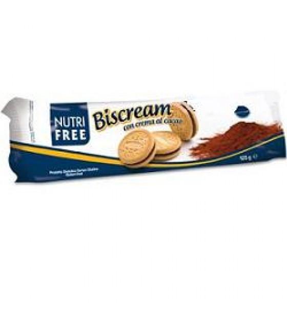 Nutrifree Biscream con crema al Cacao SENZA LATTOSIO