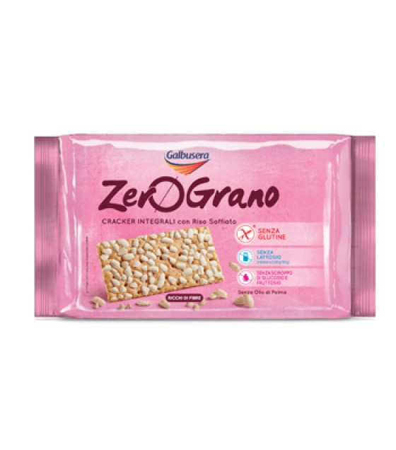 Zerograno Cracker Integr 360g