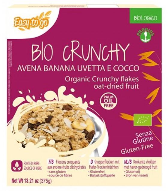 Etg Bio Crunchy Avena Banana Uva e Cocco