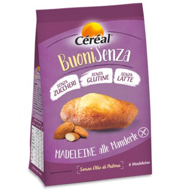 Cereal Madeleine Mandorle 180g SENZA LATTOSIO
