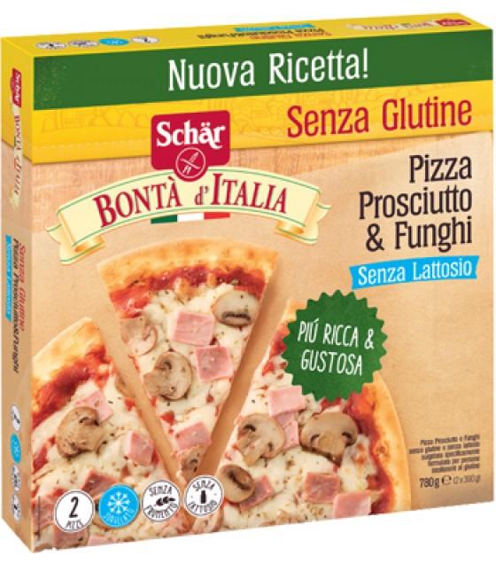 Schar Pizza Prosciutto & Funghi 2pz