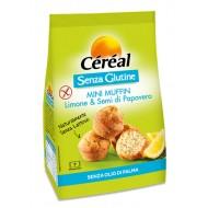Cereal Buoni Senza Mini Muffin Limone e semi di papavero SENZA LATTOSIO