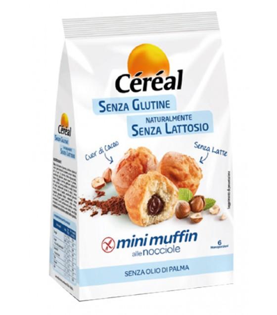 Cereal Buoni Senza Mini Muffin alle Nocciole SENZA LATTOSIO