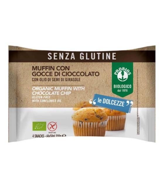 Muffin Gocce Cioccolato 4x50g