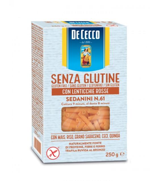 De Cecco Sedanini con Lenticchie Rosse N61 250g